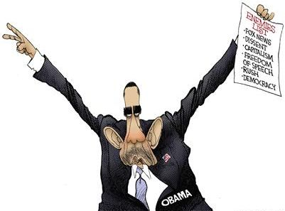 Obama is Nixon! Enemies list! Fox News, Dissent, Capitalism, Freedom of Speech, Rush, Democracy